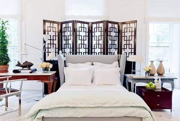 Biombo para quarto de casal