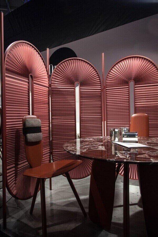 Biombo para restaurantes