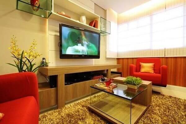 Como decorar uma sala com mesa de centro de vidro
