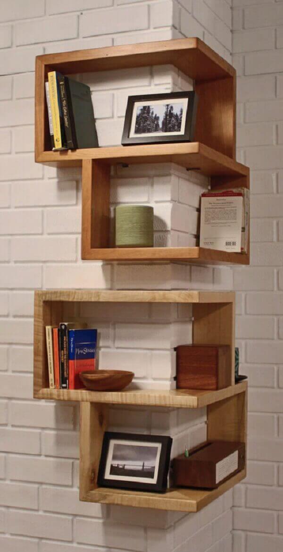 Como decorar uma sala pequena com nichos