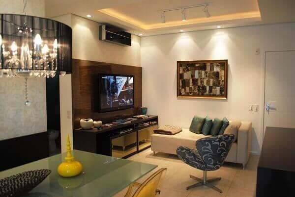 Como decorar uma sala pequena de apartamento