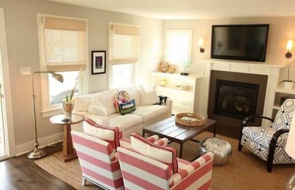 Como decorar uma sala pequena de casa