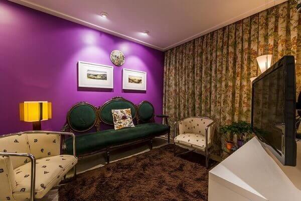 Como decorar uma sala pequena estilo vintage