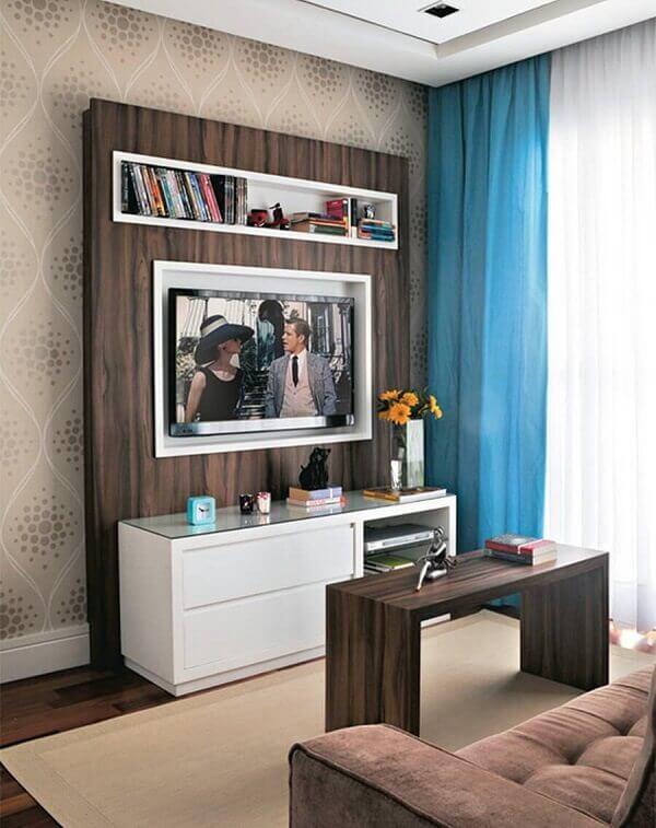 Como decorar uma sala simples em apartamento