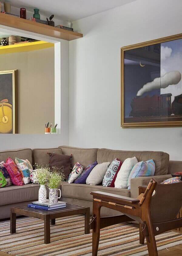 Como decorar uma sala simples