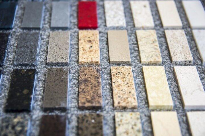 Cores diversas de granito Projeto de Recommend