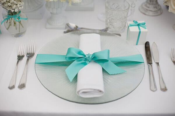 Engagement decoration delicate table decorations