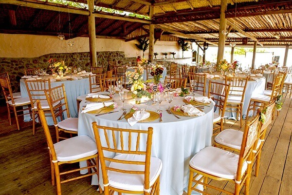 Engagement decoration tables