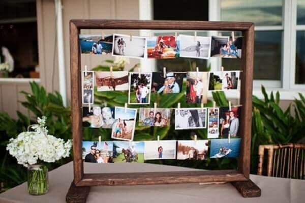 Photo Wall Engagement Decoration