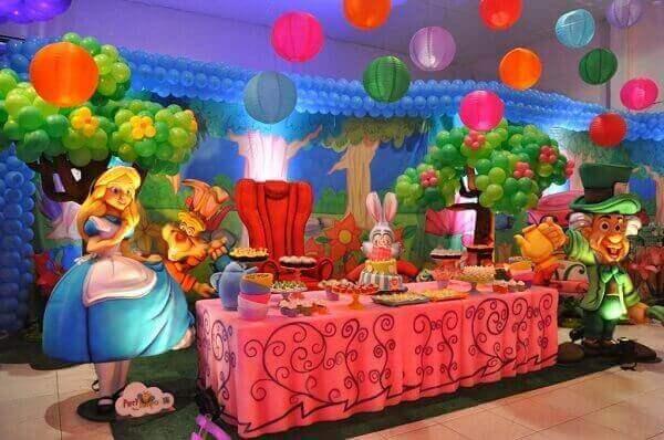 Decoração dia das crianças com temas infantis