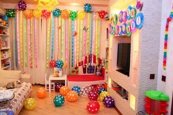 Decoração dia das crianças em apartamento