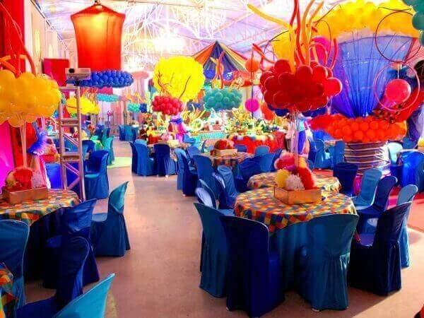 Decoração dia das crianças evento