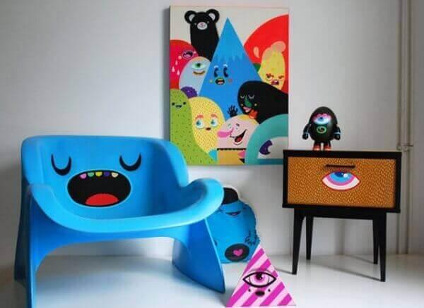 Decoração dia das crianças móveis infantis