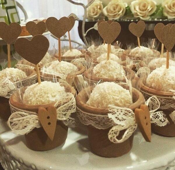 Docinhos especiais para noivado