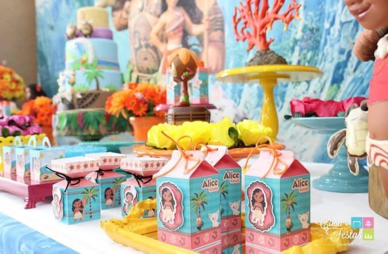 Festa Moana com lembrancinha personalizada Foto de Casa de Festas