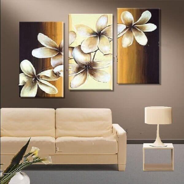 Flores lindas sala de estar