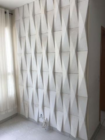 Gesso 3D em parede pequena Foto de OLX