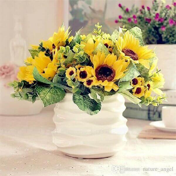 Girassol de vaso