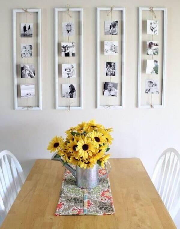 Girassol na decoração de casa