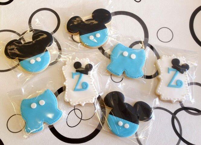 Lembrancinhas do Mickey baby de cookies Foto de Mercado Livre