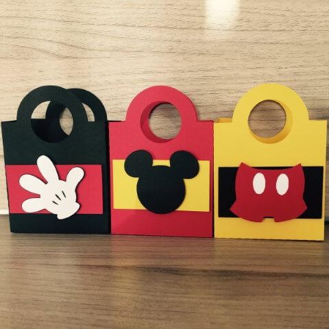 Lembrancinhas do Mickey com sacolinhas de EVA Foto de Elo7