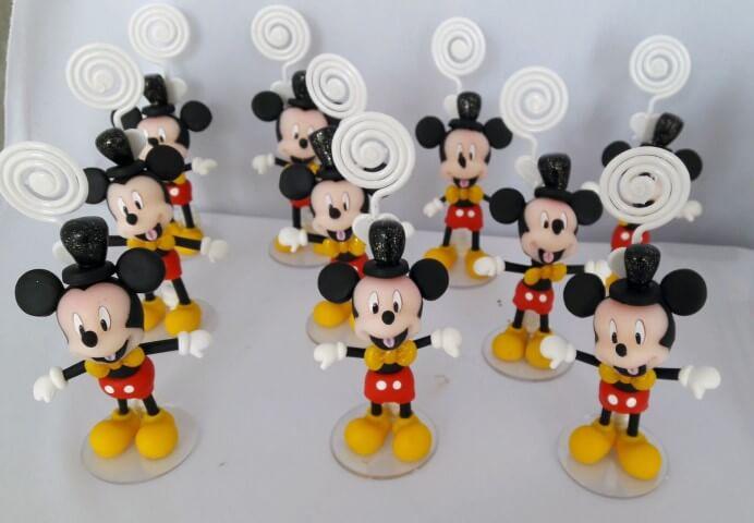 Lembrancinhas do Mickey como porta-fotos Foto de Elo7