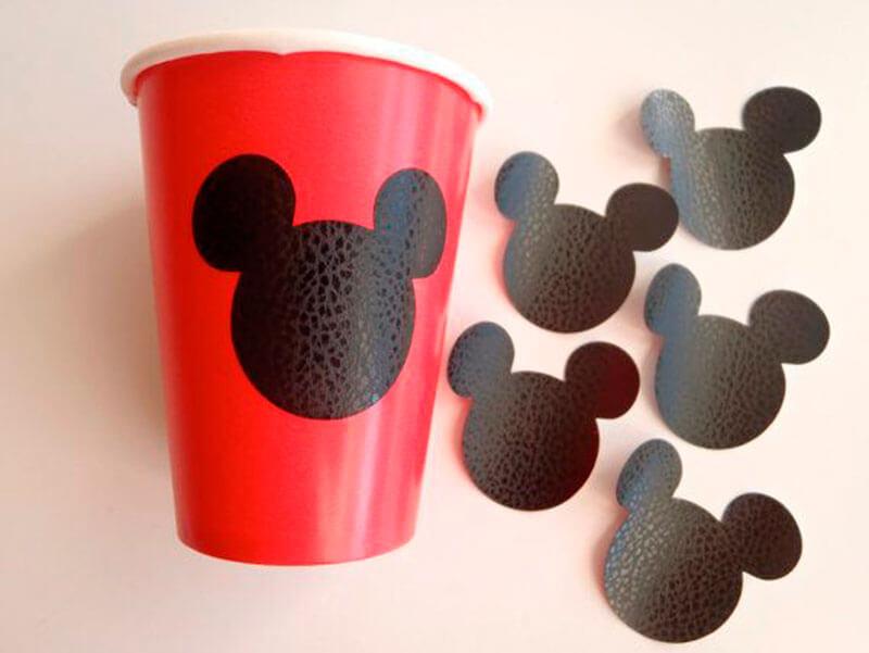 Lembrancinhas do Mickey em copinho com orelhinhas Foto de Dicas da Japa