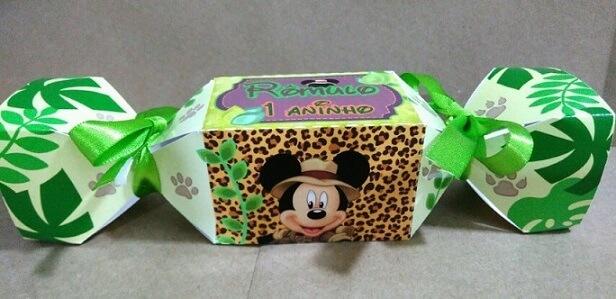 Lembrancinhas do Mickey safari em baleiro Foto de Elo7