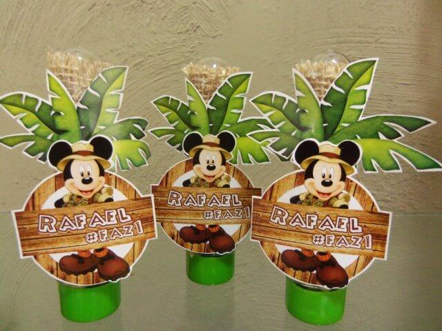 Lembrancinhas do Mickey safari em tubetes Foto de Elo7