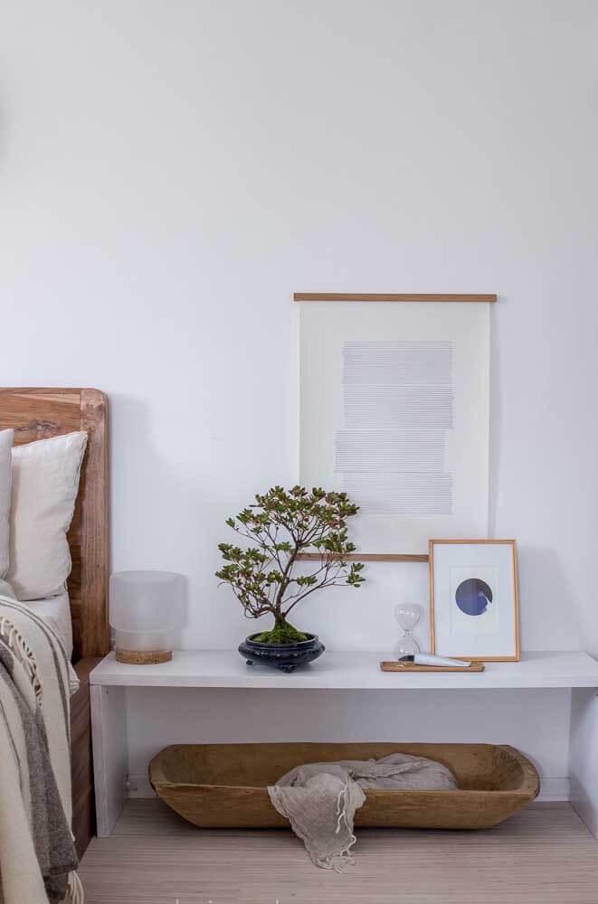O Bonsai traz paz e harmonia para o ambiente. Fonte: Pinterest
