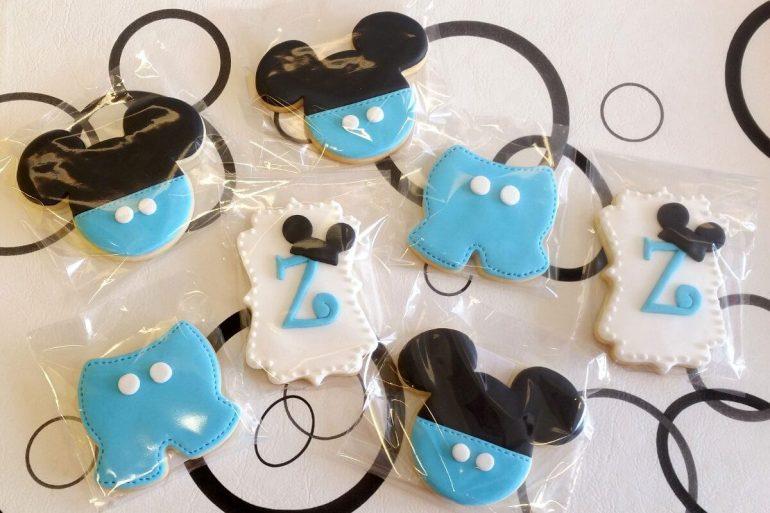 Os cookies podem ser ótimas lembrancinhas do Mickey baby