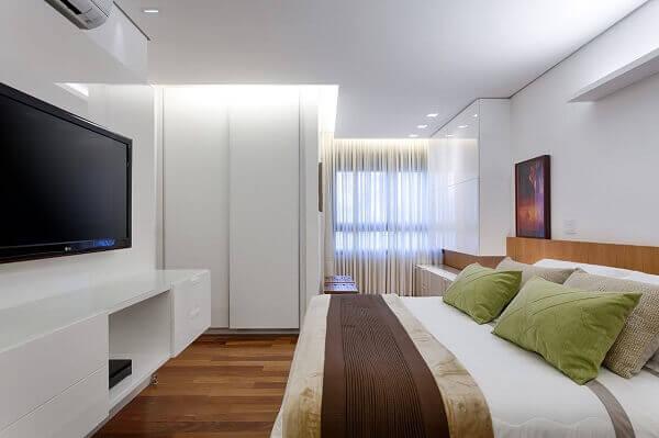 Painel para quarto rack branco