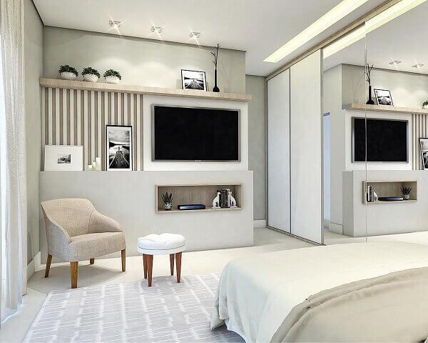 Painel para quarto sofisticado