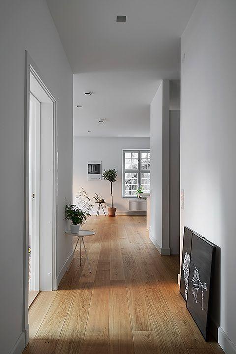 Piso laminado quarto moderno