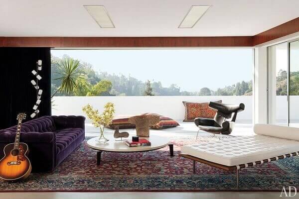 Tapete persa é uma peça que valoriza os ambientes