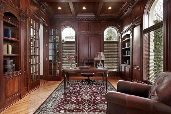 Tapete persa em decoração clássica
