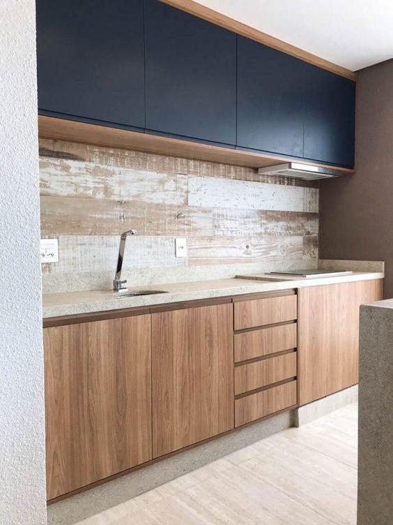 armário de cozinha - armário de cozinha de madeira