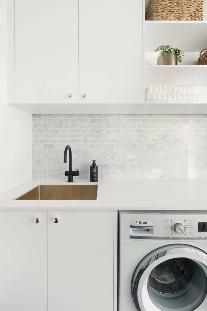 armário para lavanderia planejada Foto Pinterest