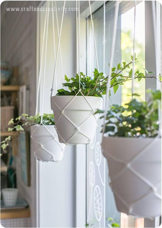 Aproveite os artesanatos em geral para fazer um jardim simples