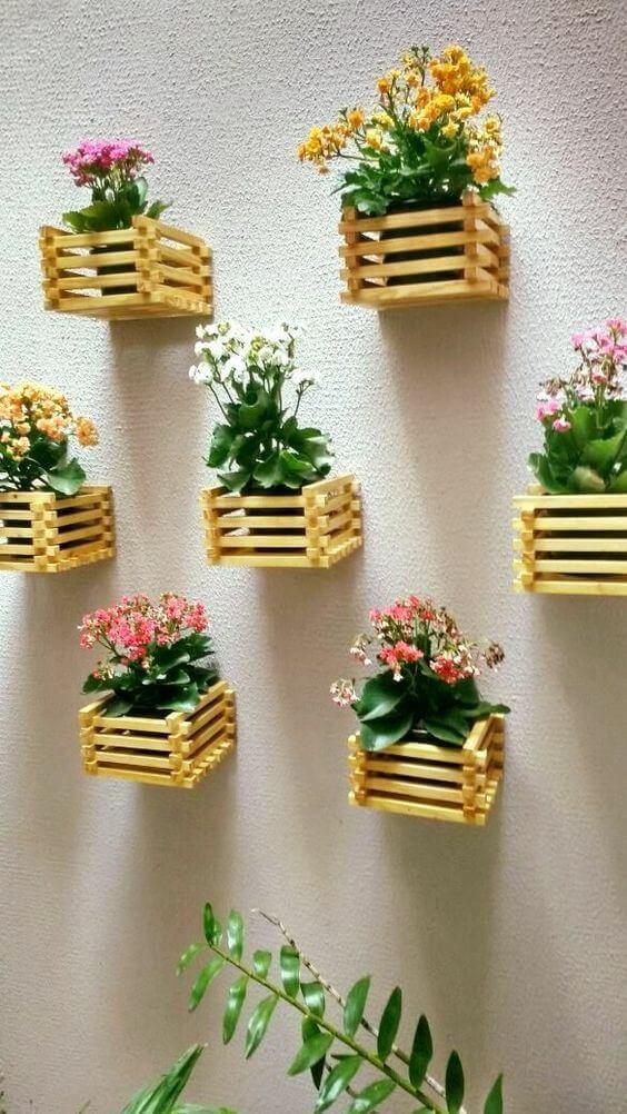 Artesanatos em geral para jardim simples