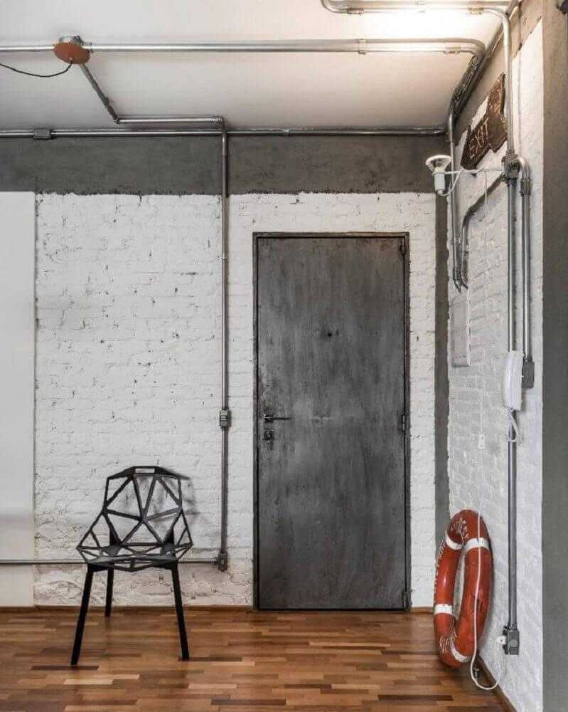 cadeira moderna preta Foto PM Arquitetura