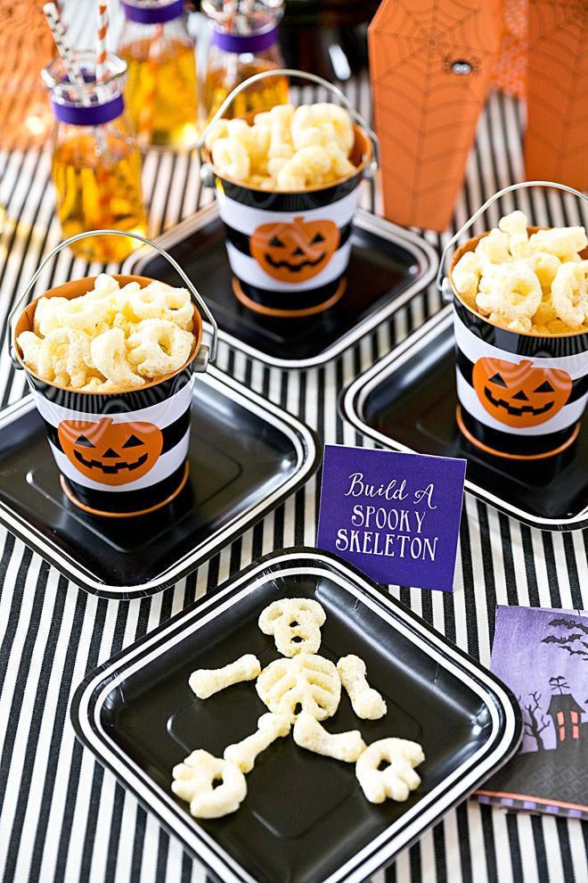 Decoração de halloween para festa animada