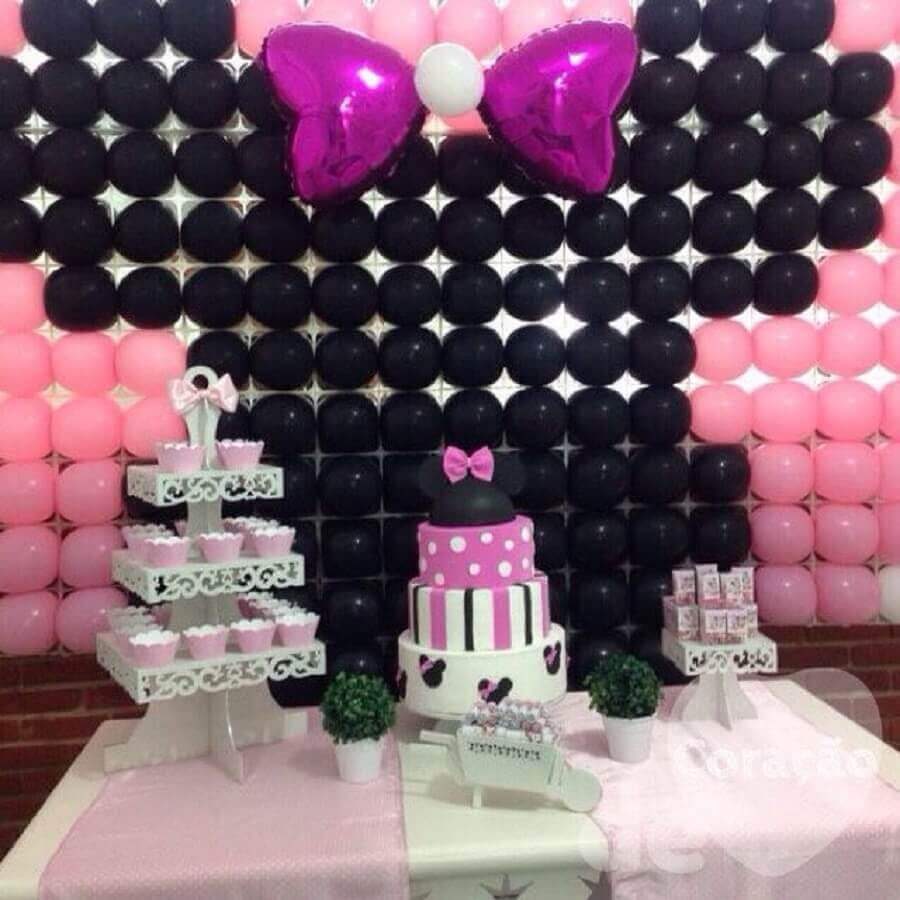 minnie's party with balloon panel Photo Roofing Brooklyn