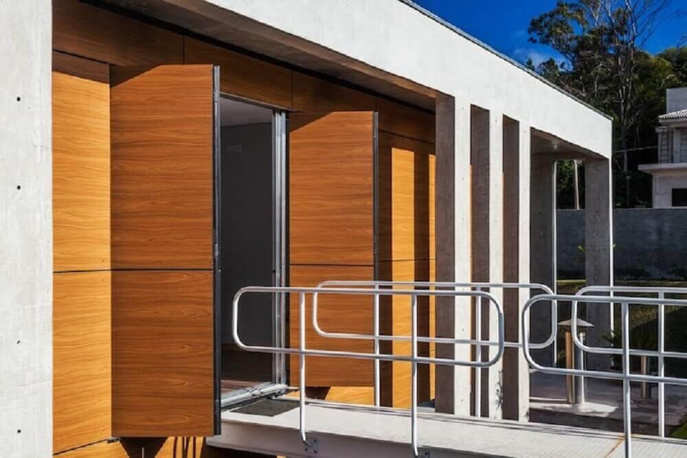 guarda corpo de alumínio para varanda Foto FGMF Arquitetos
