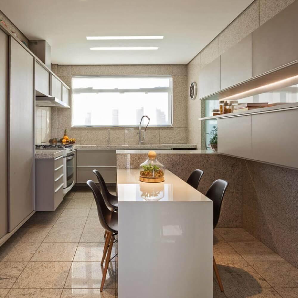 móveis laqueados para decoração de cozinha Foto Fernando César Arquitetura