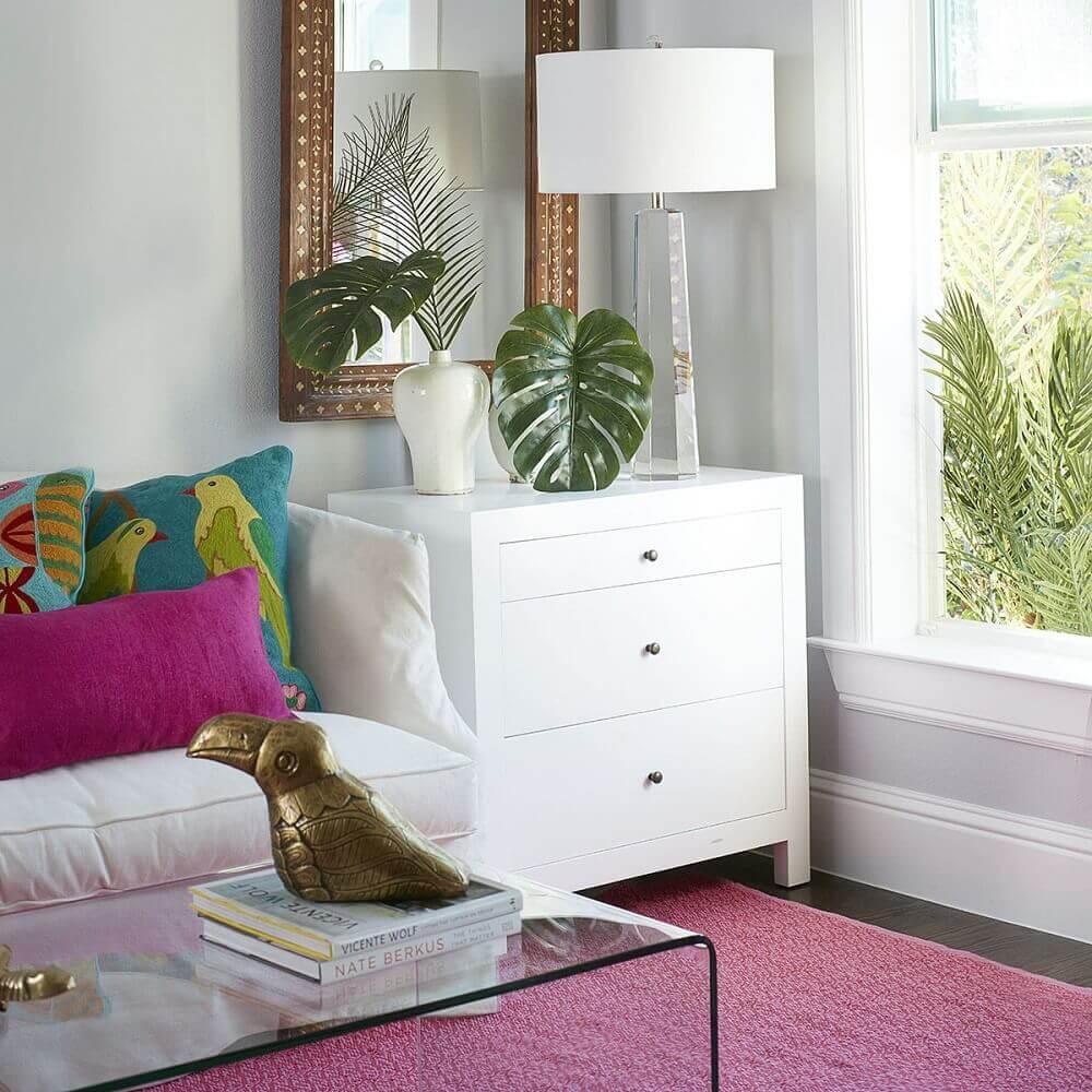 móvel laqueado para sala de estar Foto Wisteria