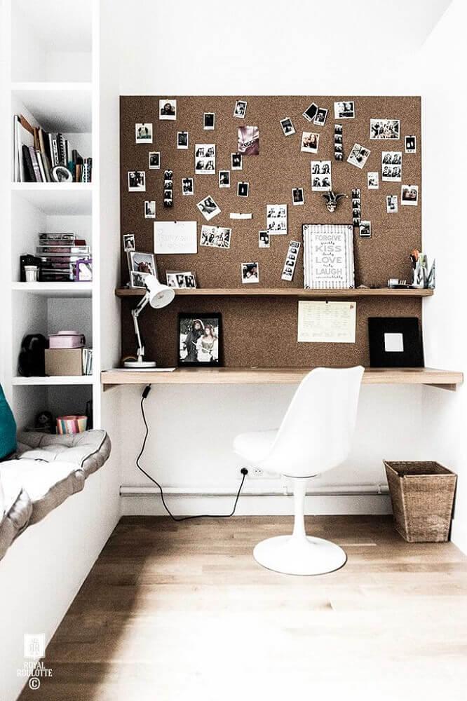modelo branco de cadeiras de plástico modernas para home office Foto Furniture Safes