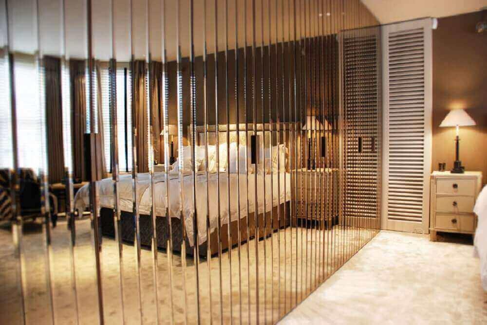 modelo diferente de guarda roupa espelho bronze Foto Simple Design Home