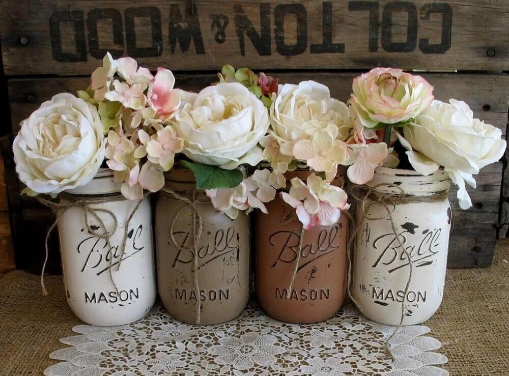 modelo simples de vasinho para lembrancinha de casamento em casa Foto Wedding Decorations Referance