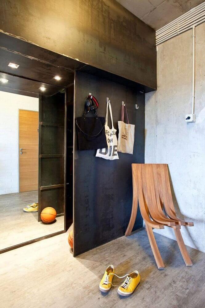 modelos de cadeiras modernas de madeira Foto Yandex